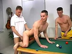 Man-lover fucking in more funny then billiard
