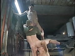 Teenage gays participate cock sucking fucking in orgy
