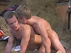 Young twink drills ally behind