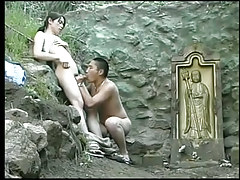 Chinese gay cock-suckers sexually excited for a hard prick outdoor in 2 episode